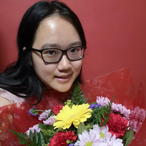 Outstanding Individual Contribution to Volunteering - Aiqing Lu
